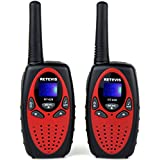 Retevis RT628 Kids Walkie Talkies 22 Channel FRS/GMRS UHF 462.550- 467.7125MHz Portable 2 Way Radio Toy for Children(Red,1 Pair)