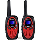 Retevis-RT628-Kids-Walkie-Talkies-22-Channel-FRSGMRS-UHF-462550-4677125MHz-Portable-2-Way-Radio-Toy-for-ChildrenRed1-Pair
