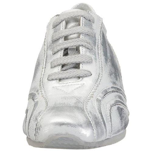 de de Gris mujer cuero ara deporte para Zapatillas ROxwCqAF