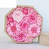 Imported Live Flower Gift Box/The Glass Live Roses/Fresh Flower Ideas Gift Box-R
