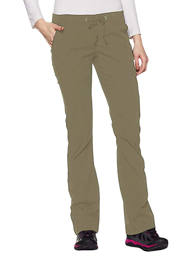 Women's Anytime Outdoor Boot Cut Pant, Water and Stain Repellent,Hiking,Travel,campling 2063-Khaki-32 by Toomett