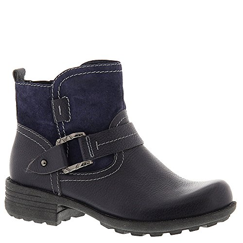 Earth Origins Paris Womens Bootie , Admiral Blue, Size - 8 (Earth Leather)