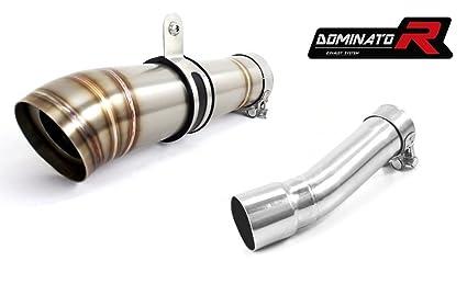 Dominator Exhaust silenciador de escape SUZUKI GLADIUS 650 REDONDO DB Killer