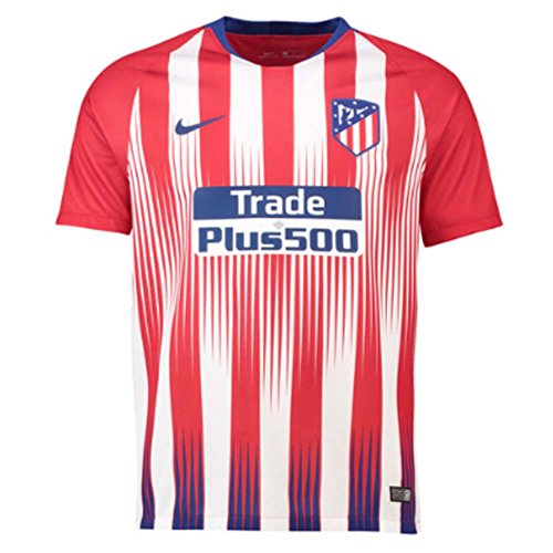 NIKE 2018-2019 Atletico Madrid Home Jersey (White Red) (S) 792b89cce