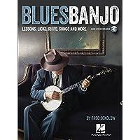 Blues Banjo: Lessons, Licks, Riffs, Songs & More Bk/Online Audio