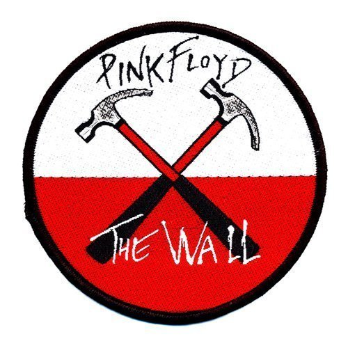 PINK FLOYD Official Merchandise Product Sew-On-Patch New THE WALL - Earrings Pink Floyd