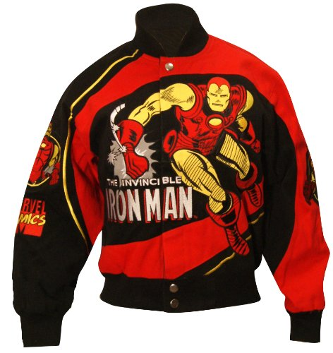 Marvel Comics Infant/Toddler The Mighty Iron Man Youth Jacket