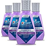 Crest Pro-Health Advanced Alcohol Free Extra Deep Clean Mouthwash, 16.9 fl oz. (Pack of 4)