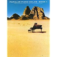 Popular Piano Solos Book 01 (Album): Songbook für Klavier