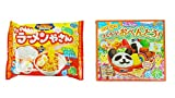 Kracie funny Ramen shop Gyoza Popin' Cookin' DIY candy 0.88 oz + Popin' Cookin' Make Bento 1.02 oz