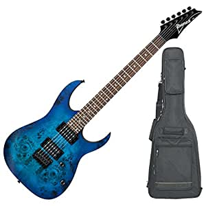 ibanez rg421pbsbf rg hard tail series electric guitar sapphire blue flat with dlx. Black Bedroom Furniture Sets. Home Design Ideas