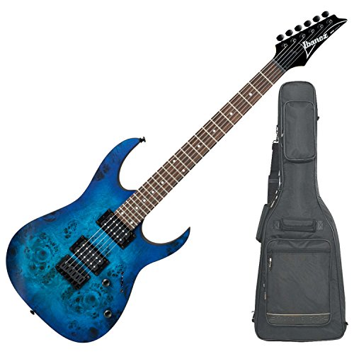 Ibanez RG421PBSBF RG HARD TAIL Series Electric Guitar (Sapphire Blue Flat) with DLX Gig Bag