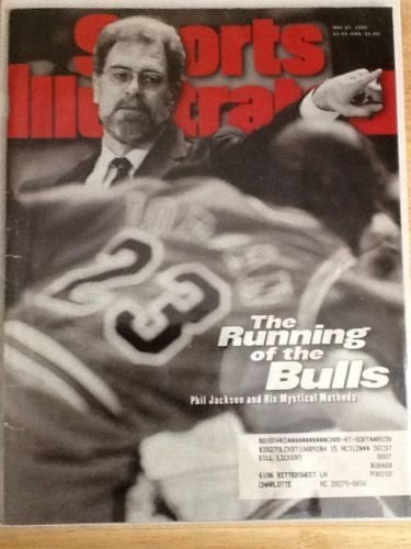 Sports Illustrated Phil Jackson - May 27, 1996 from Unknown