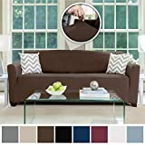 Best Couch Slipcovers - ColorBird Spandex Couch Protector (Loveseat, Light Gray) Review
