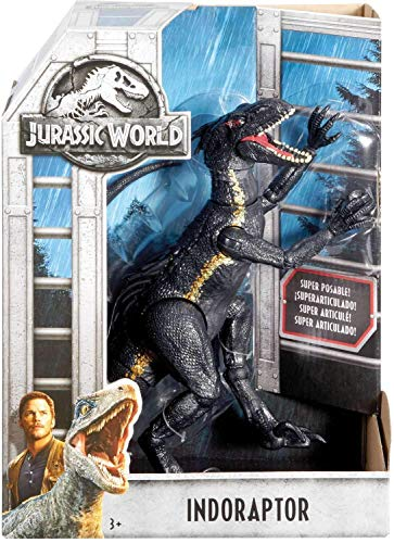 Indoraptor Villian Dinosaur Posable Figure Jurassic World Fallen Kingdom 10