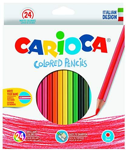 Carioca Hexagonal Multi 24pieza(s) - Lápiz de color (24 pieza(s), Multi, Madera, 3 mm, Hexagonal, Caja de cartón)