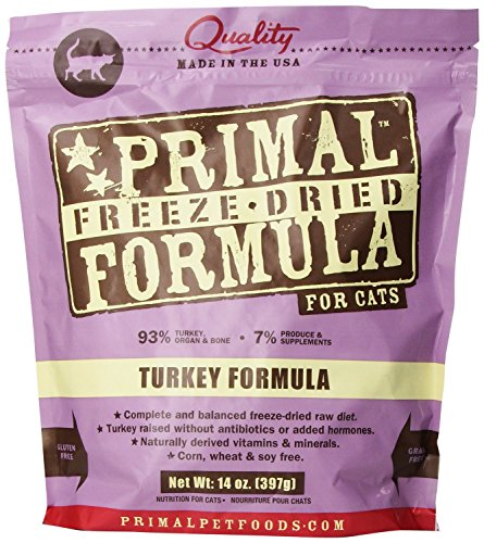 Primal Cat Turkey 14oz (Four-Pack)