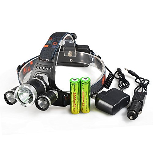 8000 lumens led flashlight - 1