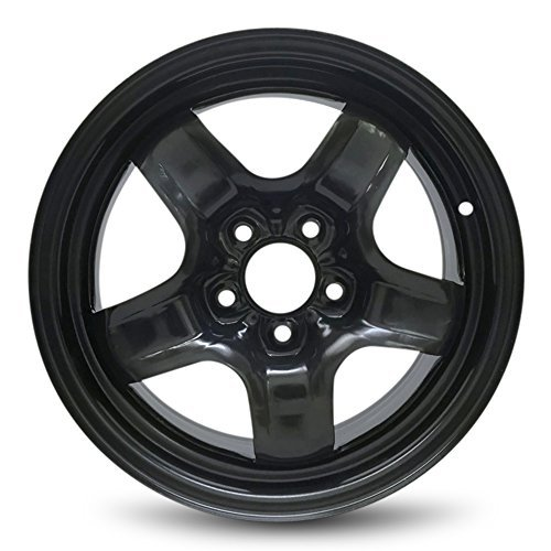 Road Ready Car Wheel For Dodge Caravan (08-13) And Chrysler Town & Country (08-10) 16 Inch 5 Lug Steel Rim Fits R16 Tire - Exact OEM Replacement - Full-Size Spare (Used 16 Inch Rims)
