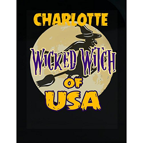 Halloween Costume Charlotte Wicked Witch Of Usa Great Personalized Gift - -