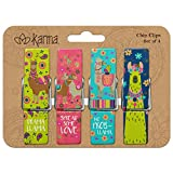 Karma Gifts Chip Clips, Llama