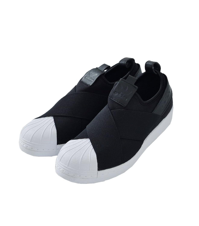 (アディダス オリジナルス)adidas Originals ストレッチストラップスリッポン SUPERSTAR SlipOn  ss-slipon B0761CYY9Q  コアブラック(col.bz0112) 23.0 cm