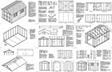 12' x 8'Classic Gable Storage Shed Project