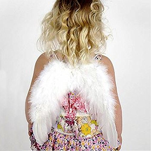 [Zucker Feather Products Infant Angel Wings White 11
