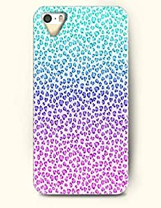 iPhone 5/5S Case, SevenArc Phone Cover Series for Apple iPhone 5 5S Case (DOESN'T FIT iPhone 5C)-- Auqa Blue And...