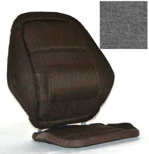 Deluxe Back Rest Finish: Grey by McCarty's