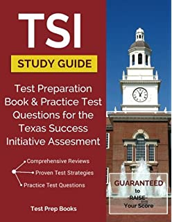 Tsi assessment study guide 2017 tsi test preparation book and tsi study guide test preparation book practice test questions for the texas success initiative fandeluxe Gallery