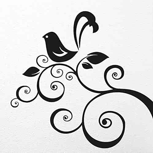 550d06fe4 Beautiful Paradise Bird Branch. tattoos tattooing temporary tattoos Cute  Face stickers one sheet of A4