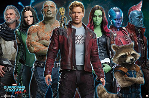 Trends International Guardians of the Galaxy 2 Intimidation