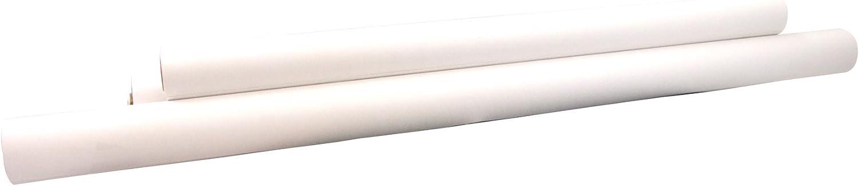 Stock White 18-lb Bienfang 321-132 Paper Poster Rolls 48 Width x 25 Yards