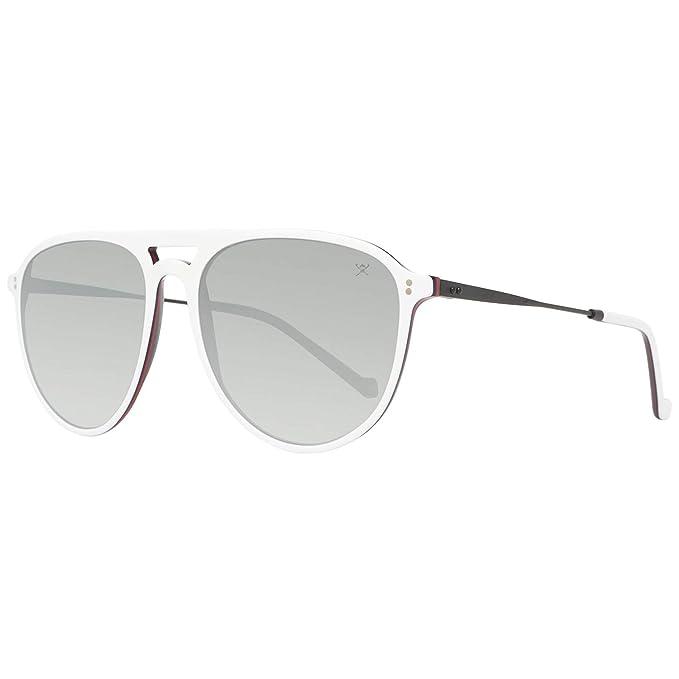 Hackett London HSB843864P57 Gafas de Sol, Blanco, 57 para Hombre