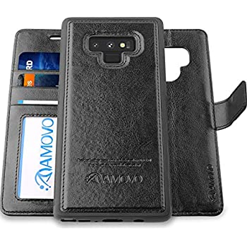 huge discount 79cb5 0b895 Amazon.com: Evo Wallet Case for Samsung Galaxy Note9 - Black: Cell ...