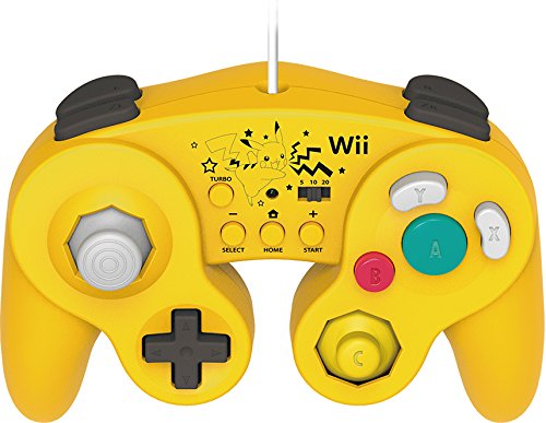HORI Battle Pad for Wii U Pikachu Version with Turbo by Hori