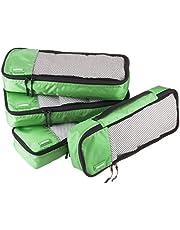 AmazonBasics 4-Piece Packing Cube Set - Slim