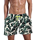 ORANSSI Men's Quick Dry Swim Trunks Bathing Suit