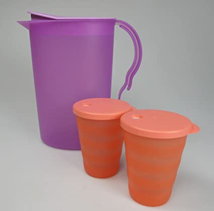 TUPPERWARE Set (3) Junge Welle Jarra 1 x bandeja 2,1 L +