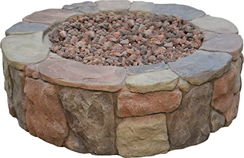 Bond Manufacturing B66600 S-66600-A Bond 66600 Petra Gas Fire Pit, Height 13 quot, Multicolored