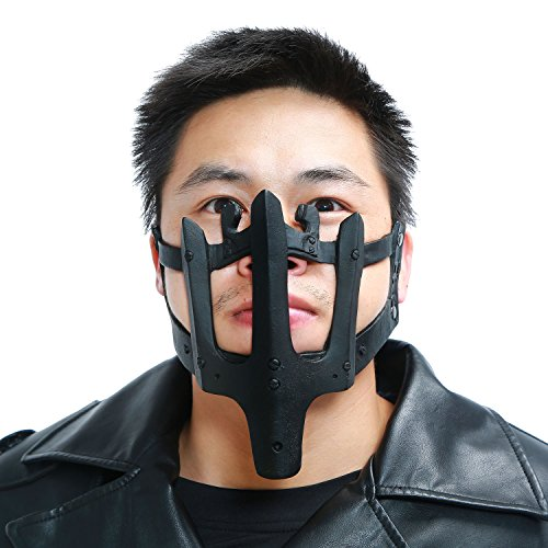 Mad Men Costume Diy (Adult Max Mask Halloween Costume Props for MM4 Cosplay PVC Adjustable DIY)