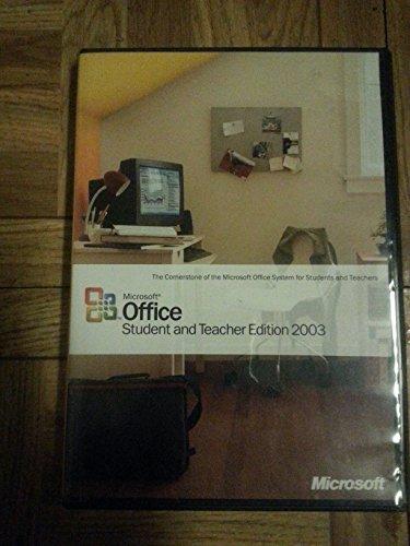 Microsoft Office Student Teacher 2003