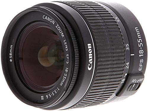 Canon EOS 2000D Rebel T7 Kit with EF-S 18-55mm f/3.5-5.6 III Lens + Accessory Bundle + Model Electronics Cloth
