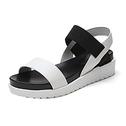 b8d742c55a0f Image Unavailable. Image not available for. Color  AIMTOPPY Summer Sandals