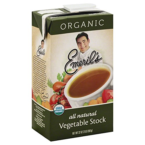 Natural Vegetable Stock (Emeril's Stock All Natural Vegetable, 32-Ounce (Pack of 6))