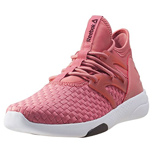 Reebok Hayasu, Chaussures Multisport Indoor Femme, Gris Multicolore (Sandy Rose / Burnt Sienna / Urban Grey / Wht / B)