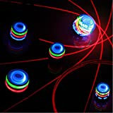 Spinning Top Toy with LED and Music Colorful Top for Kids'...