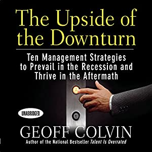 The Upside of the Downturn Audiobook