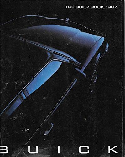 1987 Buick Original Sales Catalog Riviera, Grand National, Regal (1987 Buick Regal Grand National For Sale)